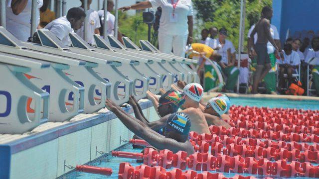 Afbeeldingsresultaat voor zwemwedstrijden in het het buitenland suriname