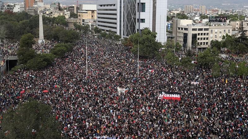 Chilenen eisen nieuwe grondwet temidden van onrust 1