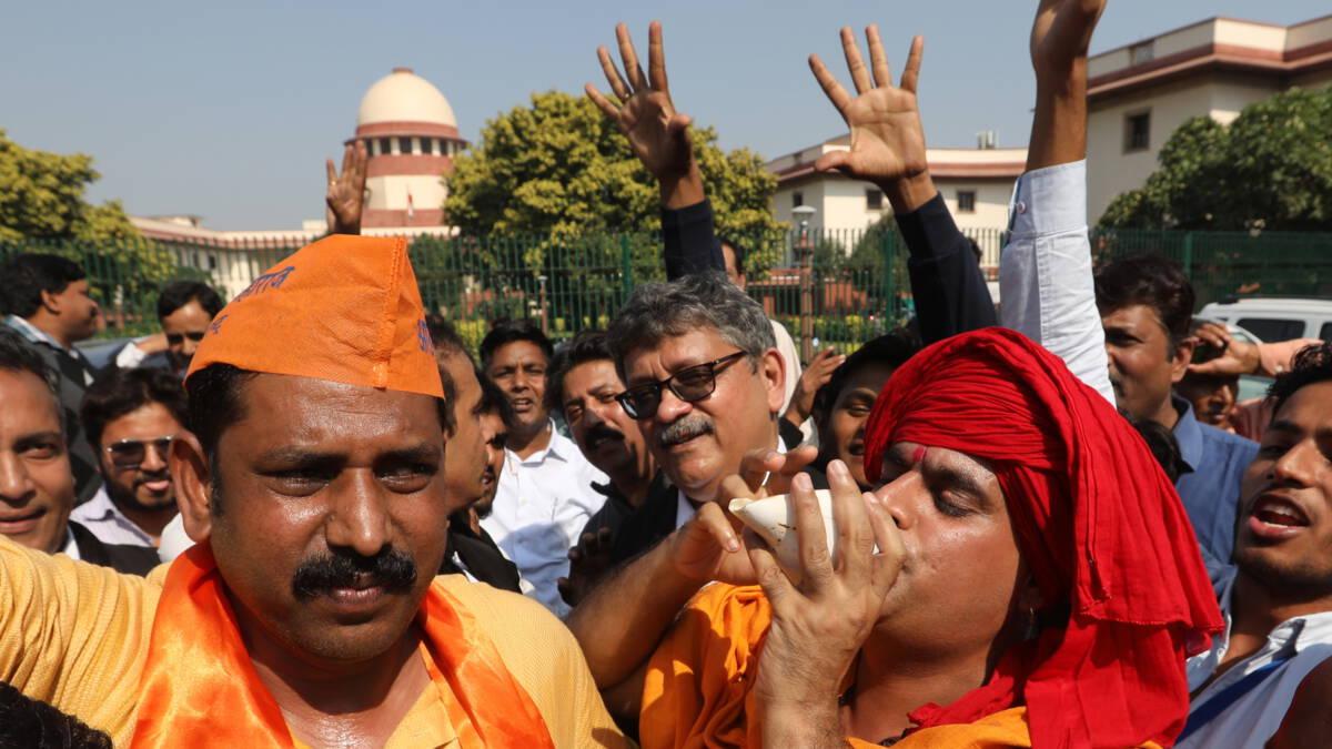 Indiase rechter stelt hindoes in het gelijk in omstreden grondkwestie Ayodhya 1
