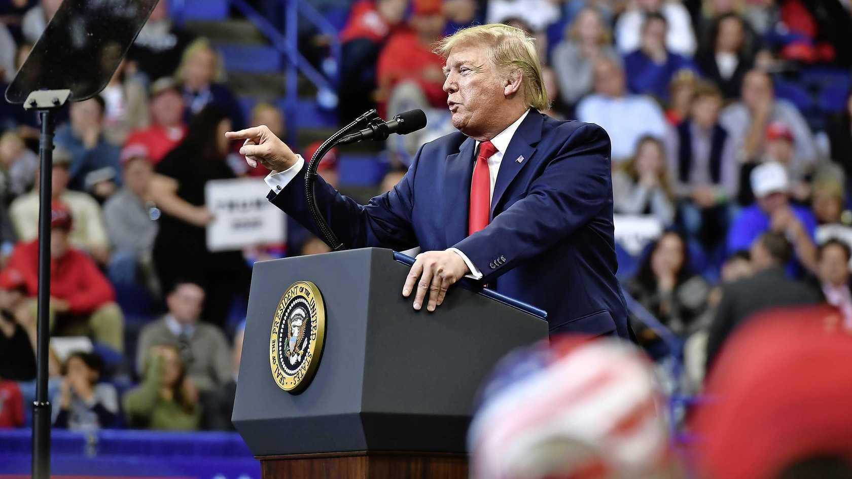 Peiling: Trump fors achter op Democraten 1