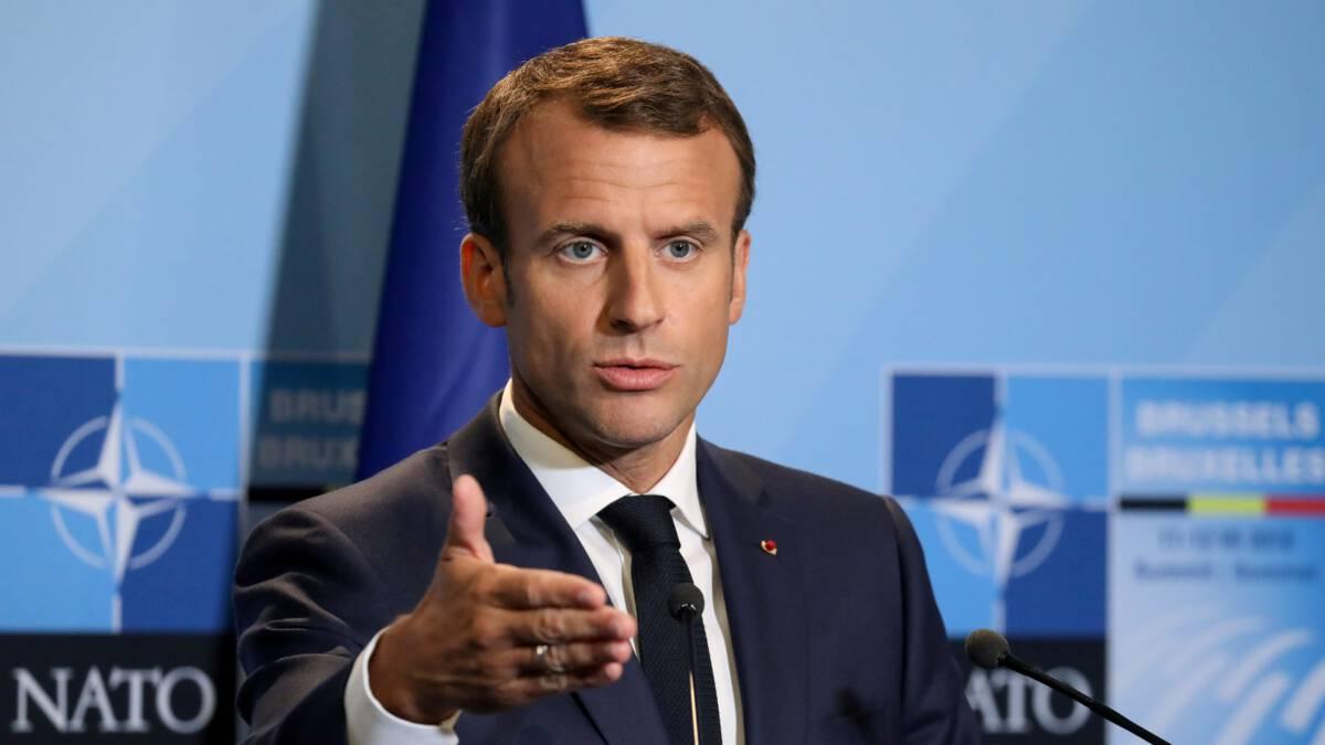 Macron: NAVO is hersendood en Europa staat aan rand van afgrond 1