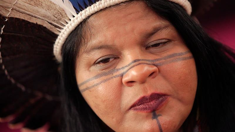 Inheemse leiders zoeken Europese steun voor Amazonegebied 2